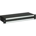 Bittree PS96DB25F ProStudio 2x48 TT Audio Patchbay - 1.5 RU