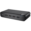Belkin F1DN104F-3 Advanced Secure Dual-Head DVI-I KVM Switch