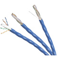 Photo of Belden 10GX12 23 AWG 4 Pair Enhanced Category 6A Cable - Blue - 50 Foot Unterminated