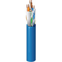 Belden 10GX12 23 AWG 4 Pair Enhanced Category 6A Cable - Blue - Per Foot Unterminated