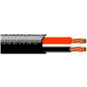 Belden 16 GA Direct Burial Low Cap Speaker Cable - White -  500 Foot Unreeled