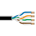 Belden 1592A DataTwist CAT-5e Patch Cable - Black - 1000 Foot Roll