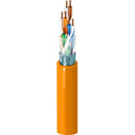 Belden 1624R 4/24 Cat5 Nonbonded-Pair ScTP Cable - Orange - 1000 Foot