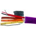 Belden 1803F 4 Pair 24 AWG AES/EBU Digital Audio Snake Cable - Violet - 500 Foot