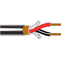 Belden 1813A Paired Two-Conductor 24 AWG Low-Impedance Audio Cable - 1000 Foot