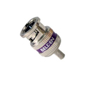 Belden 1855ABHD3 3-Piece Crimp BNC Connector for 1855A/RG59/Purple Band - 50 Pack