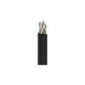 Belden 1874A Plenum MediaTwist Enhanced Category 6 Cable - Black - 1000 Foot