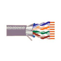 Belden 2413F 4/23 Plenum-CMP Enhanced Category 6 Nonbonded-Pair ScTP Cable - 1000 Foot