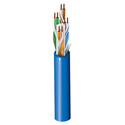 Belden 3612 Enhanced Category 6 Cable/ Gigabit Ethernet / Multi-Conductor / Nonbonded-Pair / Blue / 1000 Foot Roll