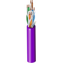 Belden 3612 23AWG Multi-Conductor - Enhanced Category 6 Nonbonded-Pair Unreel Cable - Violet - 1000 Foot