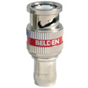 Belden 4505RBUHD1 B50 12 GHz 1 Piece BNC Compression Connector for 4505R RG59 Cable - 50 Pack