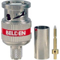 Belden 4505RBUHD3 12 GHz 3 Piece BNC Connector for RG59 Cable - 50 Pack