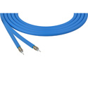 Belden 4694R 0061000 RG6 12 GHz 4K UHD 75 Ohm 18 AWG Precision Video Cable - Light Blue - 1000 Foot