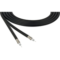 Belden 4855R 12G-SDI 75 Ohm 4K UHD Mini Coax Video Cable - Black - 1000 Foot
