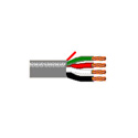 Belden 6102UE 14 AWG 4 Conductor Plenum-CL2P Cable - 1000 Foot Spool