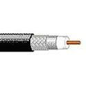 Belden 7733A Plenum RG-8/U Low Loss 50 Ohm Cable - Black - Per Foot