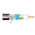 Belden 7915A Series 6 18 AWG DBS Solid Coaxial Cable - 1000 Foot