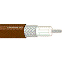 Belden 83264 75 Ohm Coax Cable with Solid RG-179U Type 30 AWG - Brown - Per Foot
