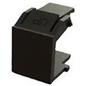 Belden AX102263 KeyConnect Blank Module Insert - Black