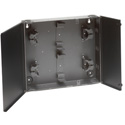 Belden AX103930 FXU WM Stackable Wall Mount Splice Enclosure - 4 x 10 Inch - Black
