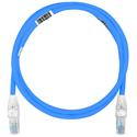 Belden CAT1106009 10GX UTP CMR Traceable Cord - Blue - 9 Foot