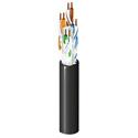 Belden OSP6U CAT6 (350MHz) 4-Pair U/UTP-Unshielded OSP Rated Premise Horizontal Cable Reel - Black - 1000 Foot