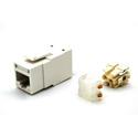 Belden RV6MJKUEW-B24 RevConnect CAT6plus Jack Electric White UTP T568 A/B Bulk Pack