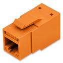 Belden RV6MJKUOR-S1 REVConnect 10GX Cat6plus UTP Modular Jack - Orange - Single Pack