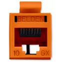 Belden RVAMJKUOR-B24 REVConnect 10GX UTP Modular Jack - Orange - 24 Pack