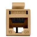 Belden RVAMJKUTN-S1 REVConnect 10GX Category 6A Connectors - Brown