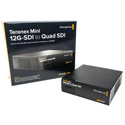 Blackmagic CONVNTRM/DB/SDIQD Teranex Mini - 12G-SDI to Quad SDI - Bstock (Cosmetic Scratches)