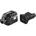 Blackmagic Design BMD-USRABroadcast-XA20sX8.5BERM-kit URSA Broadcast Camera with Fujinon XA20sX8.5BERM-K3 Lens