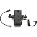 ikan BMPCC4K6KPWR-2RD-BPU Blackmagic BMPCC 4K & 6K Dual Rod Mount DV Power Kit for Sony BP-U