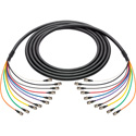 Laird BNC-10SNK-003 3G/HD-SDI 10-Channel BNC Thin Profile 23AWG Snake Cable - 3 Foot