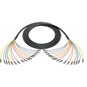 Laird BNC-16SNK-003 3G/HD-SDI 16-Channel BNC Thin Profile 23AWG Snake Cable - 3 Foot