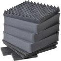 Pelican 0351 7-Piece Replacement Foam Set for 0350 Protector Series Cube Case
