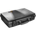 Pelican 1490WF Protector Laptop Case with Foam - Black