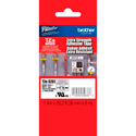 Brother TZeS261 1.4 in x 26.2 ft ( 36 mm x 8 m) Black on White Extra-Strength