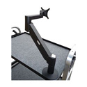 Backstage MAG-LCD LD-MA BK-X Light Duty 9-21 Pound Monitor Arm - Black