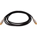 Sescom BSC50RR Audio Cable Belden Star Quad RCA Male to RCA Male Black - 50 Foot