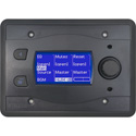 BSS Audio BLU-10-BLK Touch Screen Programmable Remote Wall Controller - Black