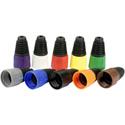 Neutrik BSX-0-BLACK Colored Boot for X-Series - Black - 10 Pack