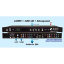 Blonder Tongue HDE-2H/2S-QAM 4-Channel MPEG-2 Encoder/QAM Modulator with HD-SDI