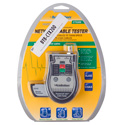 Photo of Triplett CTX200 Pocket Cat CAT5/6  BNC COAX Network Cable Tester