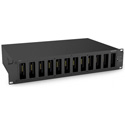Beyerdynamic UNITE-CR-12P 19-inch Rack Charger for up to 12 Unite Pocket Transmitters/Receivers