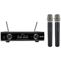 CAD Audio GXLD2HHAI Digital Wireless Dual Handheld Microphone System w/ D38 Capsule AI Frequency Band 909.3 - 926.8 MHz
