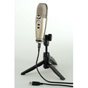 CAD Audio U37 USB Studio Recording Microphone with Tripod Stand