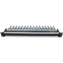 Canare 332MCK-STS Straight Through 12G-SDI Video Patchbay with MCVJK-STS Micro Jacks