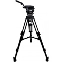 Cartoni KF2222HC AL FOCUS 22 Head 2 Stage Aluminum 100mm HD tripod ML Spreader Feet 2 Pan Bars & Soft Case