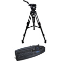 Cartoni KF222CHM FOCUS 22 Head 2 Stage CF 100mm HD Tripod ML Spreader Feet Pan Bar & Soft Case